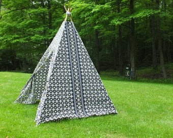 Children's Play Tent Teepee - Funky, Fun, Ikea SOMMAR 2017