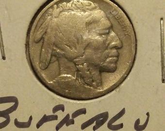 1919 p Buffalo Nickel