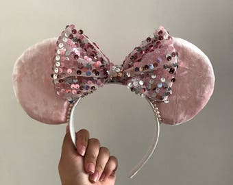 Pink Mickey Mouse Ears