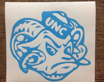 University of North Carolina Tar Heels Vinyl Decal