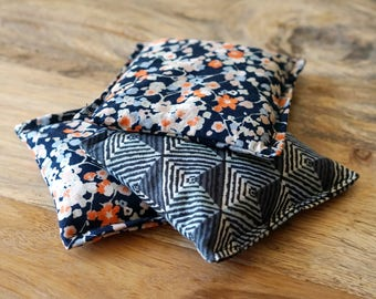 Aromatherapy Bag // Flax Seed Hot Pack // Small Heating Pad // Hand Warmer // Cramps