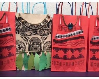 Custom Moana and Maui Candy/Favor bags