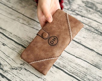 Clutch,wallet,womens wallet,womens gifts,gifts for mom,womens clutch, personalized clutch, monogram clutch,Christmas gift,monogram wallet,