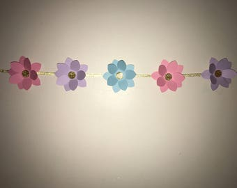 Flower Backdrop/ Garland