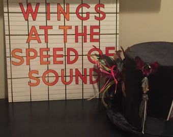 Paul McCartney - Wings at the Speed of Sound FREE standard SHIPPING. Minimum purchase of 9.99 Thru 8/31/17 Coupon Code: FREESHIP