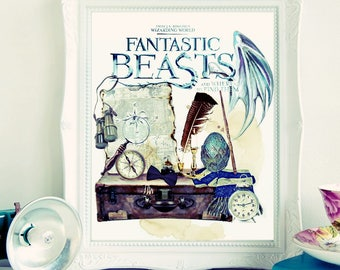 Fantastic Beasts and Where to Find Them.