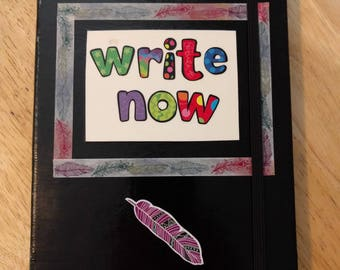 WRITE NOW Notebook, Writing Journal