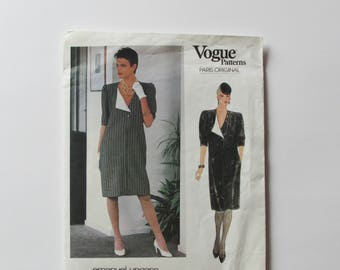 Vintage Very Easy Vogue  - Woman's Dress Pattern 1173- New