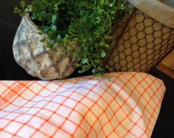 Orange Tea Towel