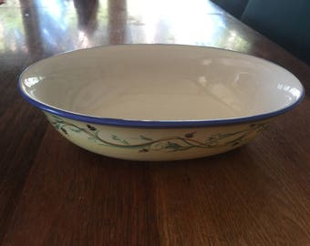 Pfaltzgraff Pistoulet Oval Vegetable Bowl