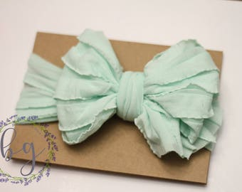 Large Baby Wrap Bow