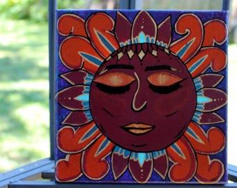Sun Goddess Acrylic on Canvas Painting