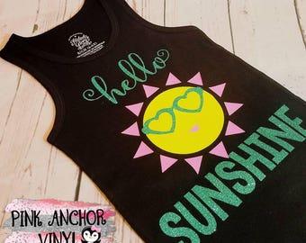 Hello sunshine tank