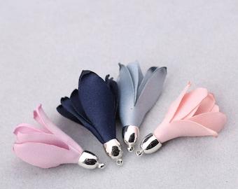 00036 20 pieces Earrings pendant/petals/flower/tassels/handmade jewelry/materials/DIY/key rings/mobile phone hangings