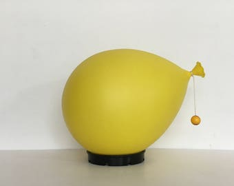 Yves christin by Bilumen balloon baloon lamp 1975