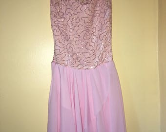 Pink Detailed Costume