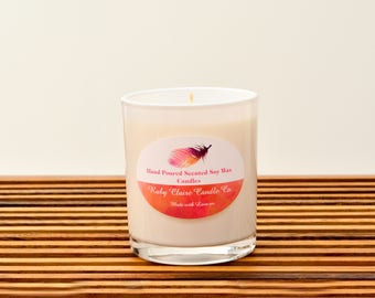 Hand Poured Scented Soy Wax Candle