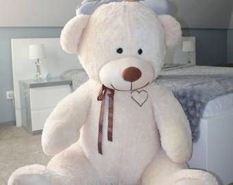 Large Giant Big Teddy Bear Soft Plush Toys 105+85cm
