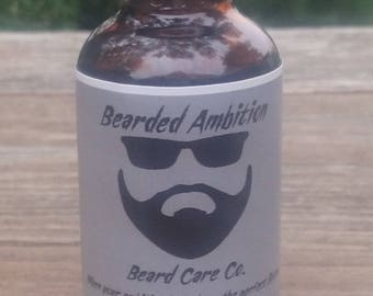 Bay Rum Scented Beard oil By Bearded Ambition Beard Care Co.