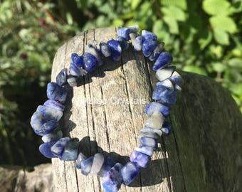 Sodalite Reiki Crystal Bracelet