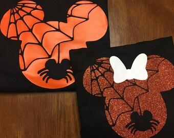 Halloween Disney Couples Shirts