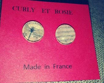 Dragonfly earrings set