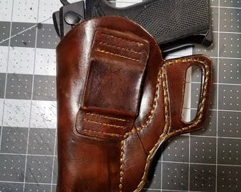 Custom 1 of a kind Leather Holster