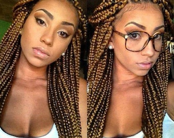 Full 13*4 frontal braided wig