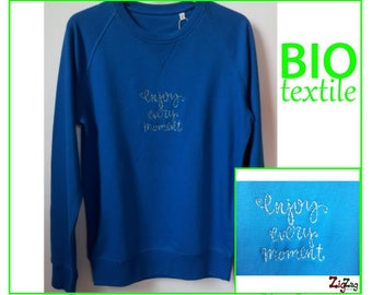 Limited Edition embroidered organic men Sweatshirt