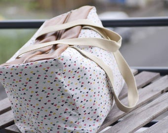 Diaper bag / weekend - fabric choices - custom / personalized