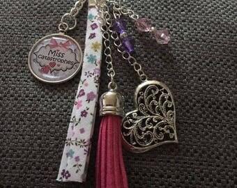 """key / jewelry bag """"trouble"""""""
