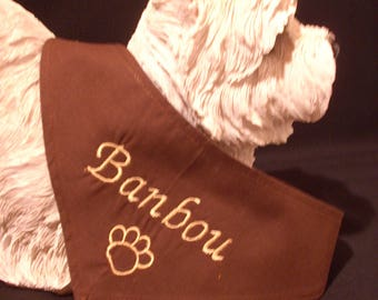 Bandana to customize for your dog XXS - XS - S - M