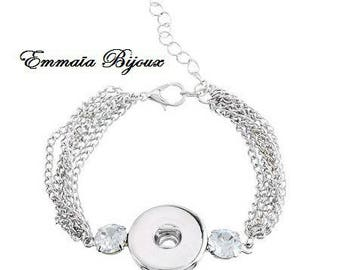 Bracelet chain to snap 15.5 cm
