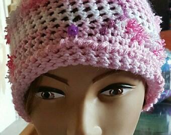 Bobble Hat handmade crocheted custom