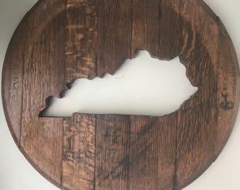 My Old Kentucky Home Bourbon Barrel Heads