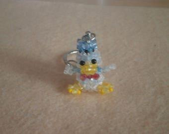 """Keychain model """"Duck DUCK""""."""