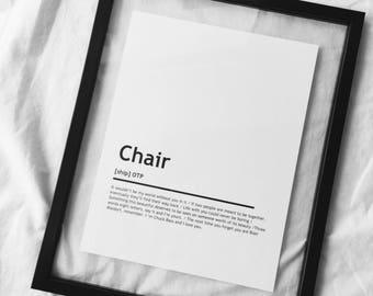 Chuck & Blair OTP Print