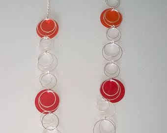 Necklace set with mother of Pearl