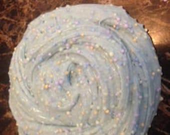 Blue Fun-Fetty Cake Batter