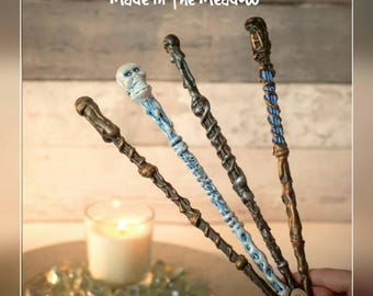 Magical wands for wizards and witches, cosplay accessory, Halloween costume