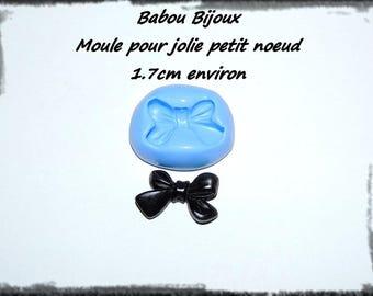 Beautiful mold nice bow 1.7 cm