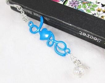 Bookmark LOVE Chevron - blue - REF MP033