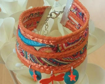 colors of summer Cuff Bracelet