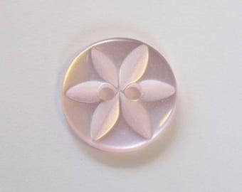 Button 2 holes - 001641 star 14 mm x 50