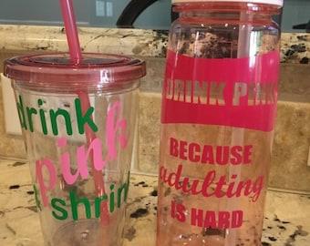 Plexus pink drink decals