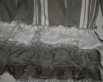 Panty ruffles bloomer pants linen gauze