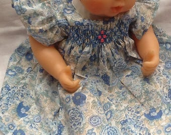 Dress, Liberty Blue Elysian, doll 30 cm
