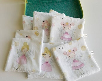 Washable wipes - baby wipes - fairy