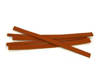 Camel leather bracelet set