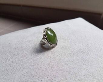 large ring adjustable khaki color